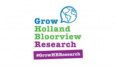 Grow Holland Bloorview Research