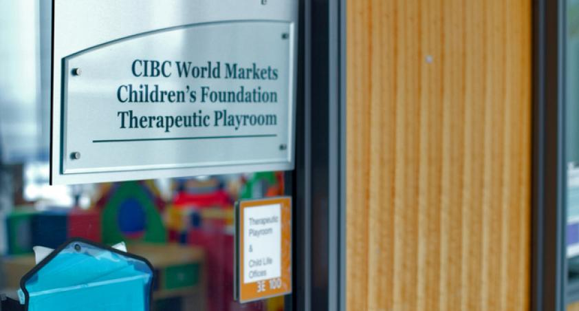 CIBC World Markets Children's Foundation Therapeutic Playroom