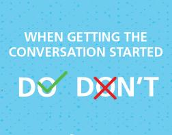 When Getting the Conversation Started