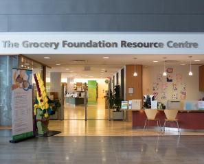 Outside shot of The Grocery Foundation Resource Centre